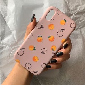 NEW iPhone X / XS Cute Summer Peaches Case